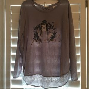 Lauren Conrad LC NWT Party Animal Sweater XXL